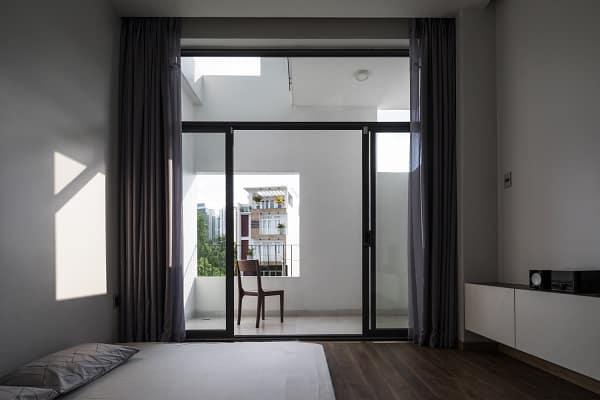 Phòng ngủ - nhà phố liên thông