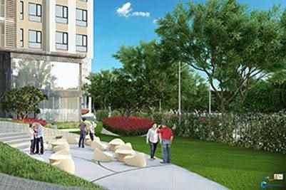 công viên dự án bcons suối tiên