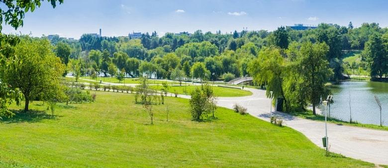 cong-vien-cay xanh goldsan hill villa-min