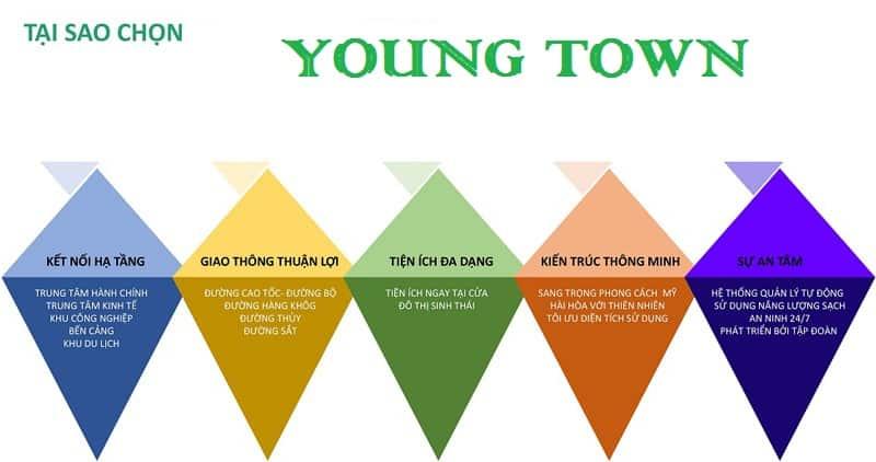 dự án young town