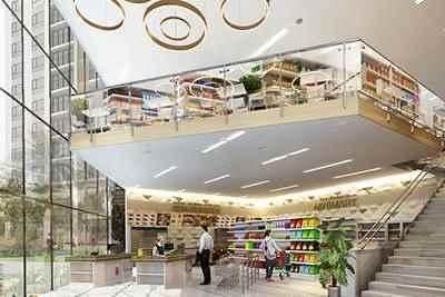 trung tâm thương mại bcons suối tiên