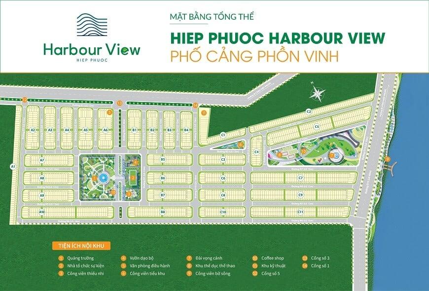 mặt bằng tổng thể harbour view