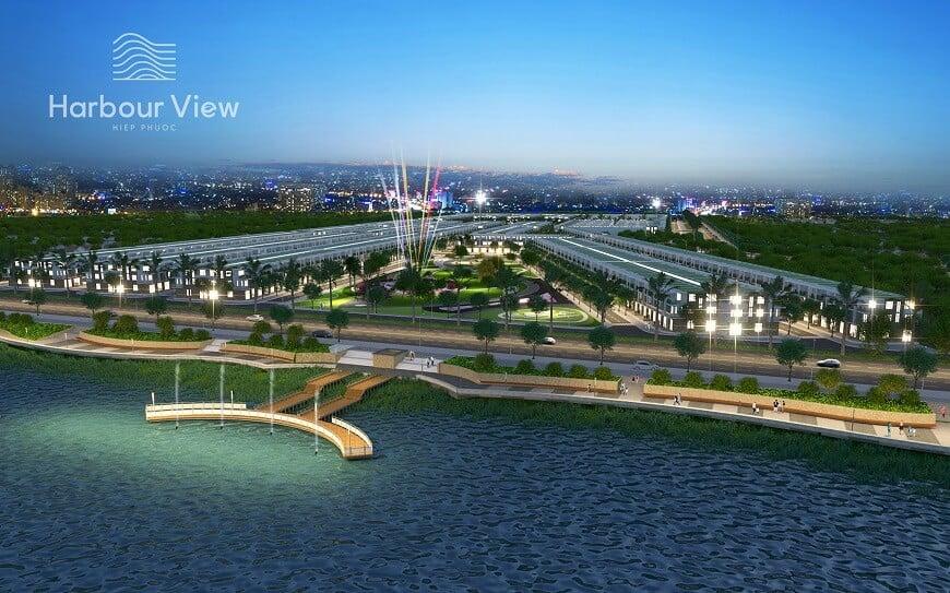 Phối cảnh harbour view