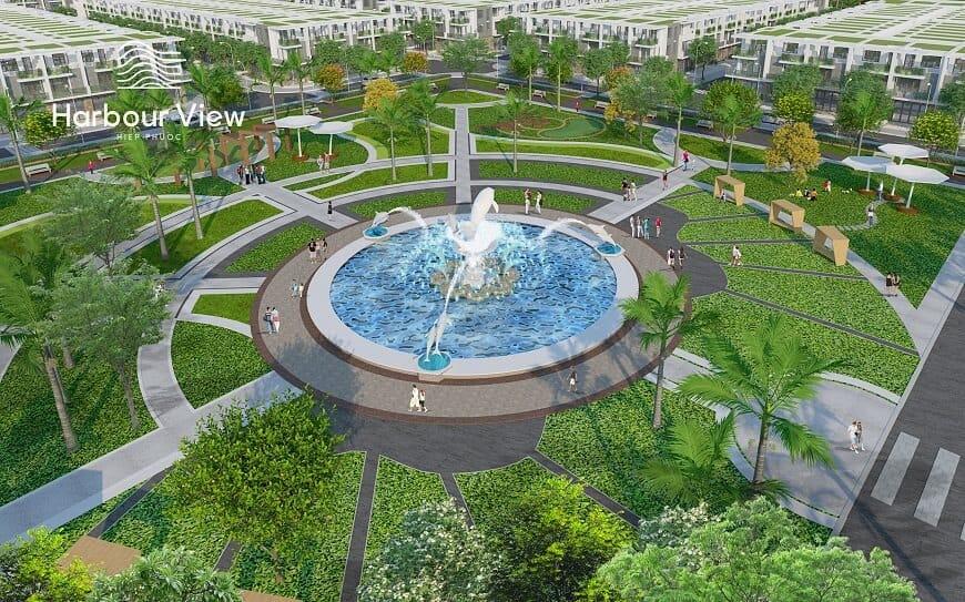 Công viên trung tâm chủ đề gần gũi với thiên nhiên
