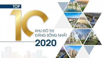 top 10 khu do thi dang song nhat 2020